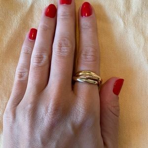 Cartier Le must ring, fits size 7/8